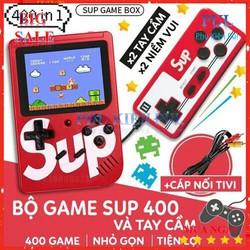 Máy Chơi Game Sup 400 Game Kèm Tay Cầm Chơi Game
