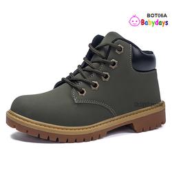 Giày boots trẻ em cổ thấp BOT06A