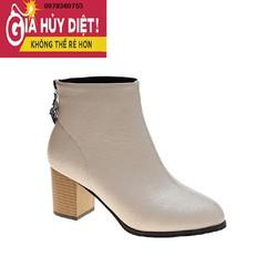 Giày Boot Da