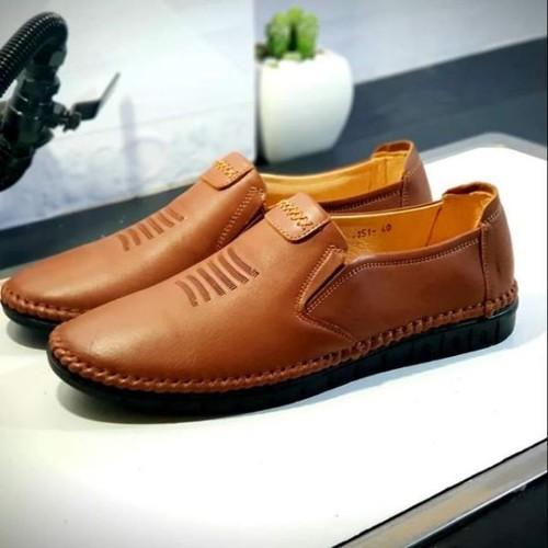 Giày nam thúc màu nâu chất da thật -from ôm chân đi siêu êm
