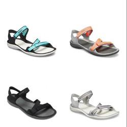 Giày sandal nhựa -crocs- đi mưa Webbing cho nữ chống hôi chân. giầy crocs. chống trơn trượt. Giày -crocs- đi biển, đi phượt