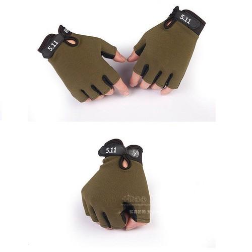 Găng tay chiến thuật 511 có đủ 3 màu đen màu xanh rêu và rằn ri