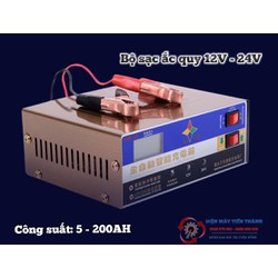 Bộ Sạc Thông Minh 12V - 24V