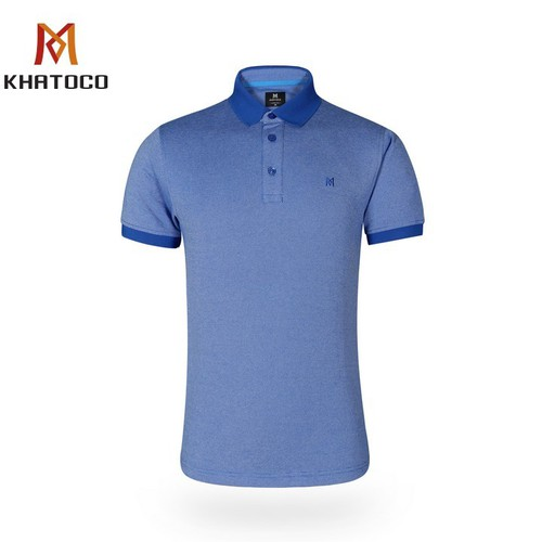 Áo thun nam khatoco trơn màu a2mn438r2-vnmk007-2012-n