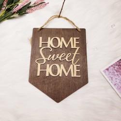 Biển gỗ trang trí HOME SWEET HOME 4