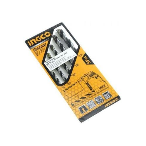 4-10mm bộ 5 mũi khoan bê tông đuôi trơn ingco akdb3055 - 20694657 , 23662137 , 15_23662137 , 37000 , 4-10mm-bo-5-mui-khoan-be-tong-duoi-tron-ingco-akdb3055-15_23662137 , sendo.vn , 4-10mm bộ 5 mũi khoan bê tông đuôi trơn ingco akdb3055