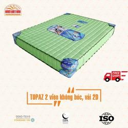 [ FREE SHIP ] Nệm lò xo Topaz 2D Hàn Việt Hải Dày 23CM