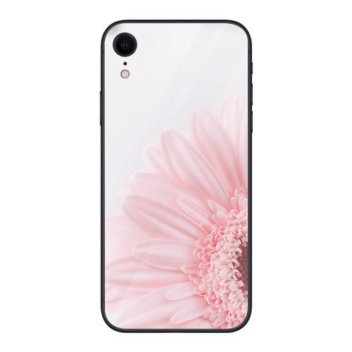 Ốp điện thoại kính cường lực cho máy iphone xr - 14 11 hoa cỏ đẹp ms hcd002