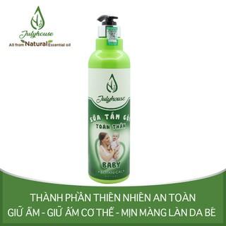 Sữa tắm gội toàn thân cho em bé chiết xuất tinh dầu Gừng và Vỏ Bưởi 700ml JULYHOUSE - Tambaby700 thumbnail