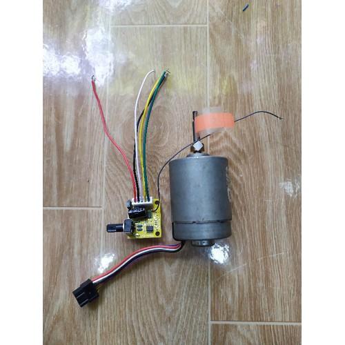 Combo chế khoan mạch mini 12v 6200 vòng