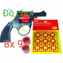 sung đồ chơi - 1 khẩu và 6 vỉ