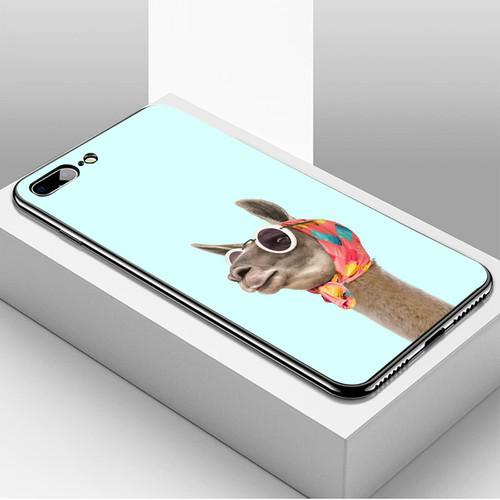Ốp điện thoại dành cho máy iphone 7 plus  -  8 plus - 14 11 ảnh động vật ms adv004