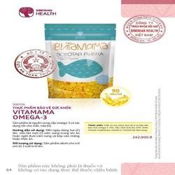 Thực phẩm bảo vệ sức khỏe bổ sung dinh dưỡng cho mắt và não bộ VitaMama Omega-3