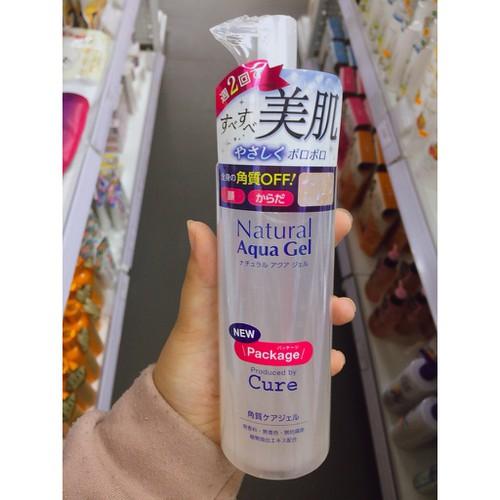 Tẩy da chết cure natural aqua gel