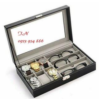 Hộp đựng đồng hồ mắt kính cao cấp - Hộp đựng đồng hồ mắt kính. thumbnail