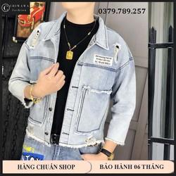 Áo khoác jean nam - áo khoác jean unisex - áo khoác style khung thời gian đẹp thời trang CHI089A - Mua Ngay