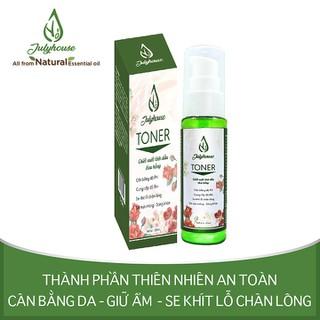 Toner chiết xuất tinh dầu Hoa Hồng 38ml JULYHOUSE - Tonerhh38 thumbnail