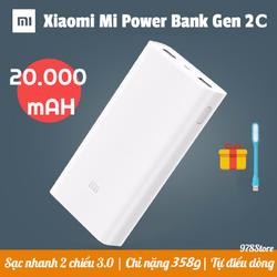 Pin sạc dự phòng Xiaoomi 20000 mAh Gen 2C