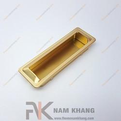 Tay nắm âm tủ màu vàng NK301-96V