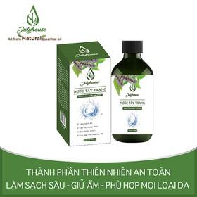 Nước tẩy trang tinh dầu Hoắc Hương 300ml JULYHOUSE - taytrang300