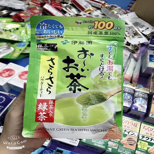 Bột trà xanh nguyên chất nội địa nhật bản