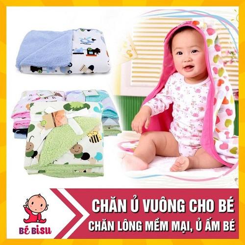 Chăn ủ vuông mùa thu đông cho em bé cao cấp - 20906570 , 23982273 , 15_23982273 , 65000 , Chan-u-vuong-mua-thu-dong-cho-em-be-cao-cap-15_23982273 , sendo.vn , Chăn ủ vuông mùa thu đông cho em bé cao cấp
