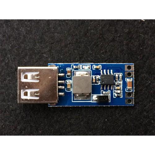 Mạch sạc điện thoại bằng acquy đầu vào 7 26v output 5v 3a max v2