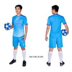 Đồ bộ quần áo thể thao bóng đá nam FT màu Xanh Ngọc Thời trang Everest - Thun dày đẹp - Chất vải đẹp form chuẩn