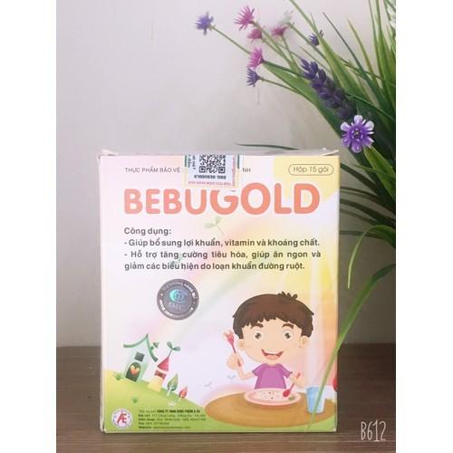 Bebugold - hỗ trợ tăng cường tiêu hóa, giúp ăn ngon, hấp thu tốt