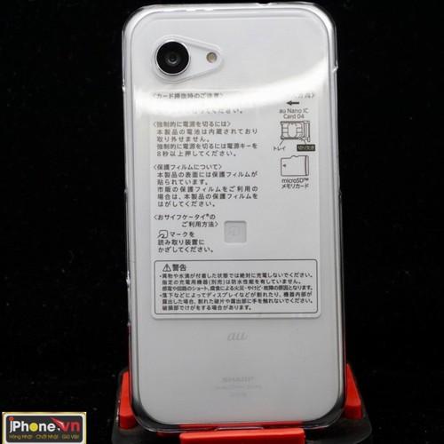 Ốp lưng điện thoại sharp shv38 nhựa cứng pc trong suốt