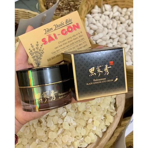 Kem dưỡng huksamsoo black ginseng eye cream_hộp 10ml