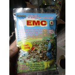 Men xử lý rác hữu cơ EMC 200g chế phẩm vi sinh vật hữu hiệu