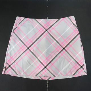 TH7615 Quần giả váy Lady Hagen nền xám phối sọc hồng WGH37070 - TH7615 thumbnail