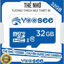 Thẻ nhớ Yoosee 32GB chuyên camera ip, điện thoại
