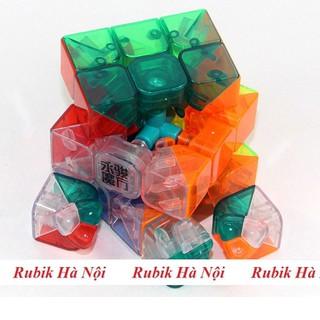 Rubik 3x3x3. YongJun Transparent [ĐƯỢC KIỂM HÀNG] - SHOPBAN7031VN thumbnail