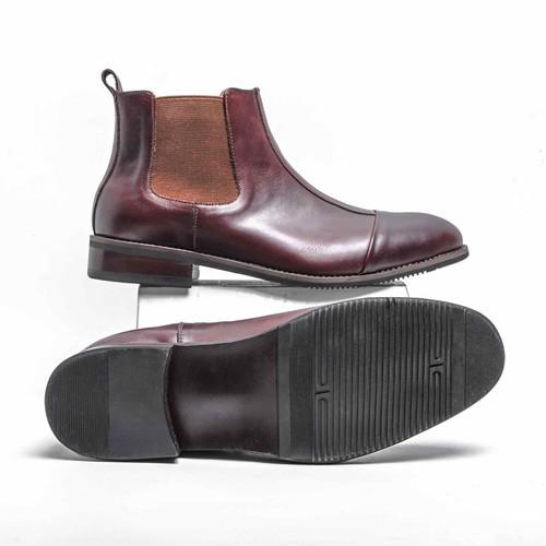 Giày da nam cao cấp tefoss hn111 - sang trọng - đẳng cấp - size 38 đến 44 - tặng vớ hoặc lót giày