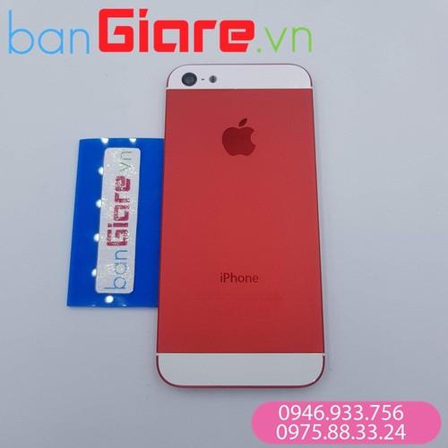 Vỏ iphone 5g màu đỏ