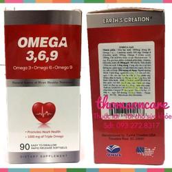 Viên dầu cá Omega 3 6 9   Bổ sung Omega 3 6 9   Hỗ trợ tim mạch   Ngừa cao huyết áp