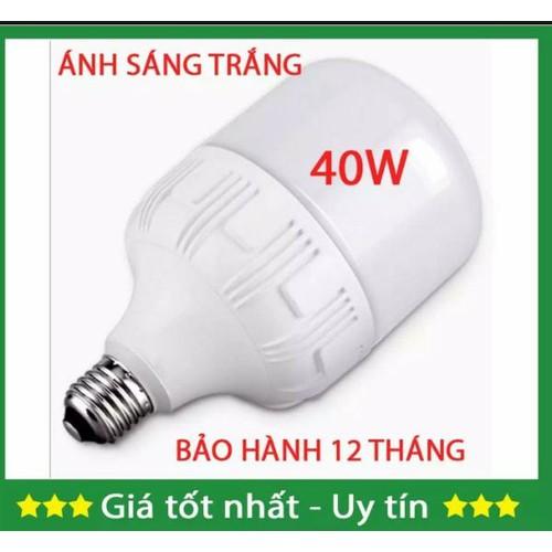 Bóng đèn led blub 40w tiết kiệm điện ánh sáng trắng