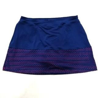 ct5531 Quần giả váy thể thao Lady Hagen xanh đen lót cam WGH37067 - ct5531 thumbnail