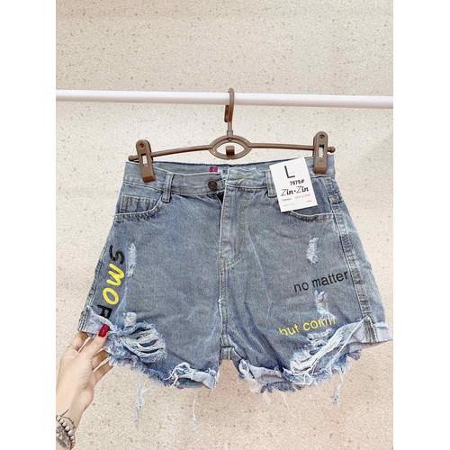 Quần short jean nữ xinh