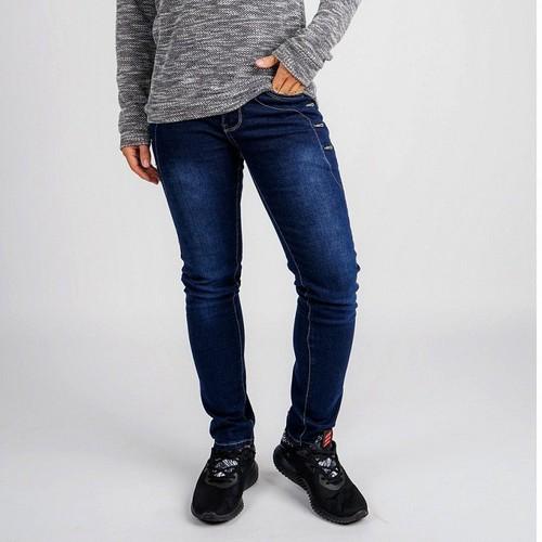 Quần jeans nam xanh trơn cao cấp