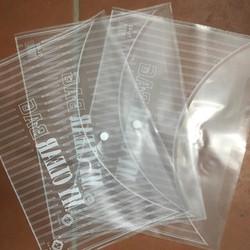 GIÁ SỈ 1.4k 1 C : Sỉ 100 Túi đựng hồ sơ tài liệu Clear Cặp khuy Dày Đẹp