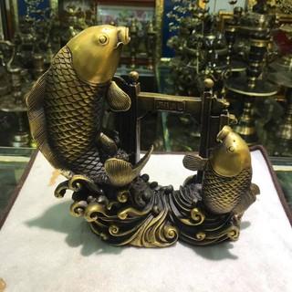 Cá chép vượt lâm môn bằng đồng nặng 1,8kg - ccvlmbdn1,8kg thumbnail