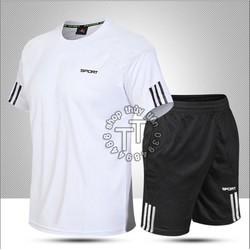 Bộ quần áo thể thao nam Đồ bộ nam mặc nhà