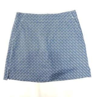 CT2069 Quần giả váy xanh navy kẻ ô vuông Lady Hagen WGH17136 - CT2069 thumbnail