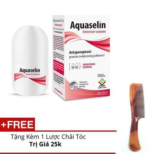 Aquaselin - lăn khử mùi và ngăn mồ hôi cơ thể dành cho nữ - quà tặng kèm - 20731131 , 23720274 , 15_23720274 , 165000 , Aquaselin-lan-khu-mui-va-ngan-mo-hoi-co-the-danh-cho-nu-qua-tang-kem-15_23720274 , sendo.vn , Aquaselin - lăn khử mùi và ngăn mồ hôi cơ thể dành cho nữ - quà tặng kèm