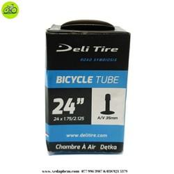 Ruột săm xe đạp Deli Tire 24 inch van Mỹ