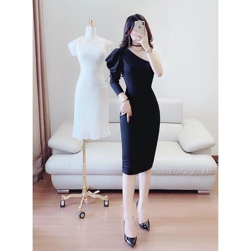 Đầm ôm dạ hội nữ lệch vai