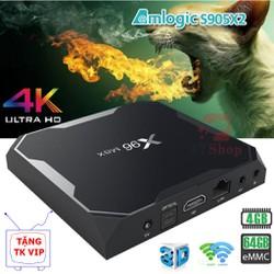 TV BOX X96 MAX Ram 4GB Rom 32-64GB Amlogic S905X2 - Chính hãng Enybox